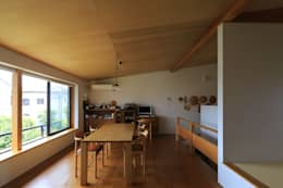eclectic Dining room by 早田雄次郎建築設計事務所/Yujiro Hayata Architect & Associates