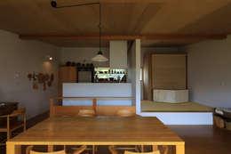 早田雄次郎建築設計事務所/Yujiro Hayata Architect & Associates의  주방