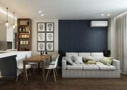 Ruang Keluarga by MIODESIGN