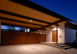 井上洋介建築研究所의  차고