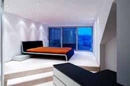 une maison familiale futuriste hyper design. Black Bedroom Furniture Sets. Home Design Ideas