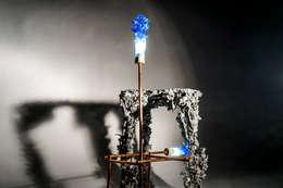 Kaarsrecht: moderne Woonkamer door Studio Pascal Smelik