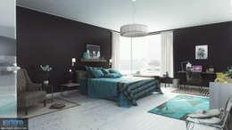 Modern Blue vue 1: Chambre de style de style Moderne par Studio Artere