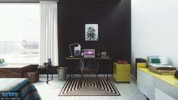 Modern Blue vue 7: Chambre de style de style Moderne par Studio Artere