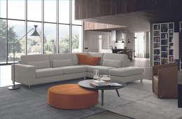 Salas de estilo moderno por FEBAL CASA