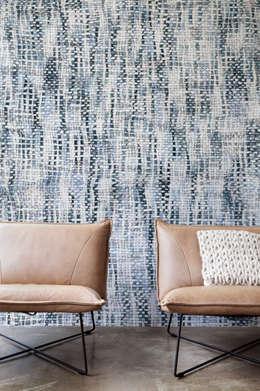 Projekty,  Ściany i podłogi zaprojektowane przez Tektura Wallcoverings