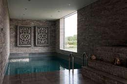 spa: moderne Spa door Studiozwart Architecten BNA