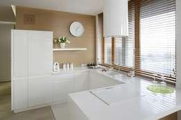 Mieszkanie : styl , w kategorii Kuchnia zaprojektowany przez Bm2 pracownia architektury