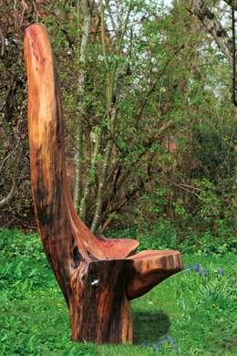 BeijumerBosSeat: landelijke Tuin door George van Engelen Design