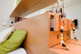 Mieszkanie dla Pani Doktor: styl , w kategorii Sypialnia zaprojektowany przez ZAWICKA-ID Projektowanie wnętrz