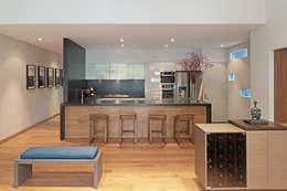 Cocinas de estilo moderno por Faci Leboreiro Arquitectura