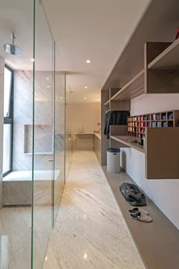 PH Andersen: Vestidores y closets de estilo moderno por Faci Leboreiro Arquitectura