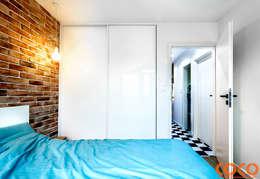 modern Bedroom by COCO Pracownia projektowania wnętrz