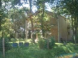 maison NEV: Maisons de style de stile Rural par Cécile Boerlen Architecte SARL