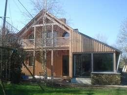 maison FOR: Maisons de style de stile Rural par Cécile Boerlen Architecte SARL
