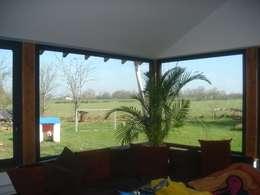 maison FOR: Salle à manger de style de stile Rural par Cécile Boerlen Architecte SARL