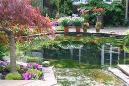 Nagelschmitz Garten- und Landschaftsgestaltung GmbH: kırsal tarz tarz Bahçe