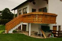 Terrazas de estilo  por BEGO Holz und Stahl