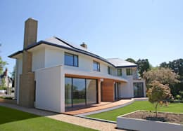 modern Houses by Rayner Davies Architects