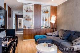 Ruang Keluarga by TiM Grey Interior Design