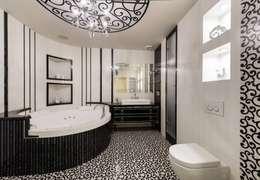 Санузел: Ванные комнаты в . Автор – Studio Design-rise