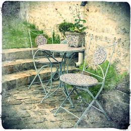 Maurine Tric: rustik tarz tarz Bahçe