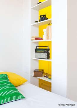 CASA DI ROSARIO: Camera da letto in stile in stile Minimalista di Maurizio Giovannoni Studio