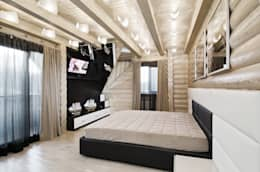 Сруб -  Рубим по-новому : Спальни в . Автор – Samarina projects