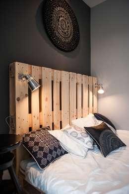غرفة نوم تنفيذ Raca Architekci