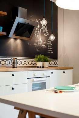 Gdańsk, Ul.Chmielna: styl , w kategorii Kuchnia zaprojektowany przez Raca Architekci