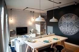 Raca Architekci: iskandinav tarz tarz Oturma Odası
