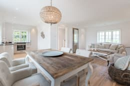 country Dining room by Immofoto-Sylt