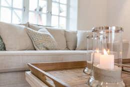 Home Staging Reetdachhaus Auf Sylt Landhausstil Wohnzimmer Von Immofoto