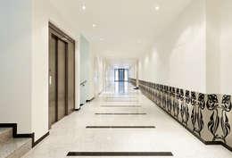 Lambriseringen:  Hotels door Dutch Duo Design