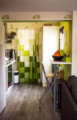espace cuisine: Cuisine de style de style Moderne par lmarchitectureinterieure