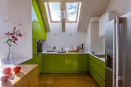 Apartment w Libertowie pod Krakowem: styl , w kategorii Kuchnia zaprojektowany przez Biuro Projektowe Pióro