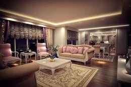 Sonmez Mobilya Avantgarde Boutique Modoko – Şehzade Salon Takımı / Özel: klasik tarz tarz Oturma Odası