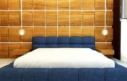 GN İÇ MİMARLIK OFİSİ – Yatak Odası: modern tarz Yatak Odası