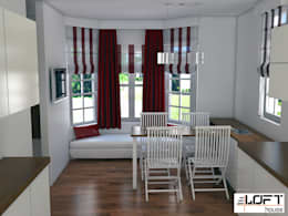 Loft House Tasarım Ofisi – 3D Projeler: minimal tarz tarz Mutfak