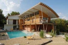 Architecture maisons: Maisons de style de style Asiatique par patrick eoche Photographie d'architecture