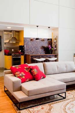 Salas de estilo moderno por Asenne Arquitetura