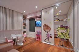 Projekty,  Pokój dziecięcy zaprojektowane przez Stúdio Márcio Verza