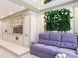 Salas / recibidores de estilo clásico por Volkovs studio