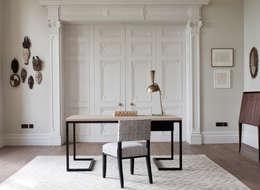 modern Study/office by Rupert Bevan Ltd