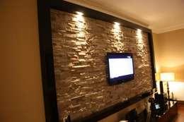 NTG Mimarlık – Akkaya's Family Home : modern tarz Oturma Odası