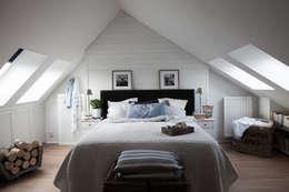 Habitaciones de estilo escandinavo por Studio Inaczej