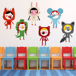 Dormitorios infantiles  de estilo  por Chispum