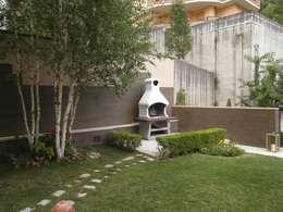 Jardines de estilo moderno por Luigi Nevola Architetto