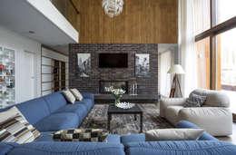 Projekty,  Salon zaprojektowane przez  Aleksandr Zhydkov Architect