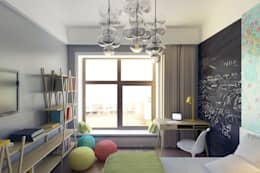 Детская: Детские комнаты в . Автор – lab21studio